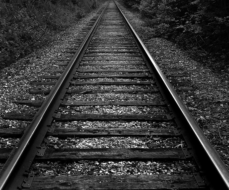 Train Tracks, Aurora, IL